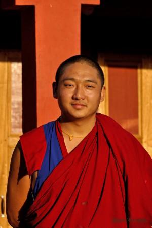 A young Bon Monk