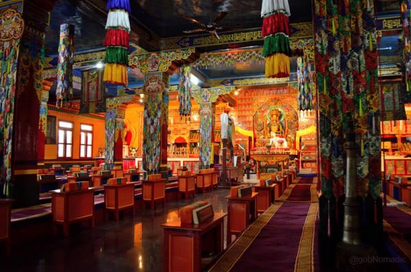 Inside the main assembly hall, du-khang. More images at Flickr