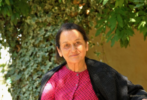 Ms Meenakshi Jhina, the owner of the Homestay
