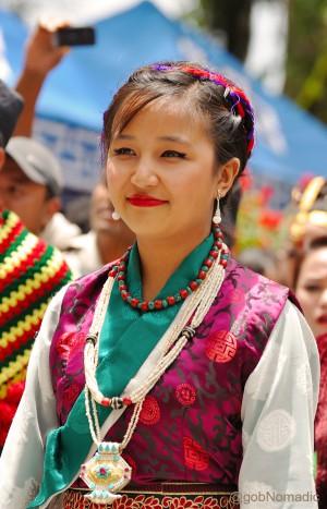 A Sikkimese belle (Bhutia)