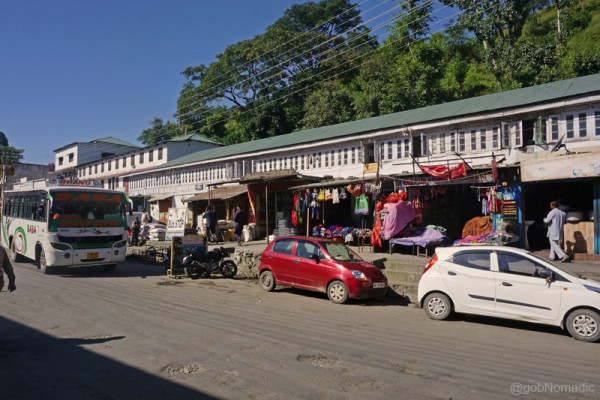 The olden market of Rajgarh