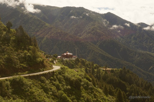 Gajiu Monastery, constructed in 1747, overlooks the road from Yadong County to Nathula market, and is the closest monastery to the China-Indian border. From its commanding position above, it controls and protects the trade route in the valley.