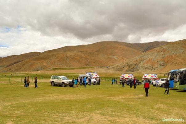 Lunch campsite by the highway G219 before Kyakyaru (Saga)
