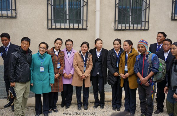"The ""ever helpful, always smiling"" support staff at Kangmar residential complex"