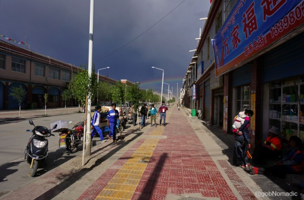 The Rainbow street!