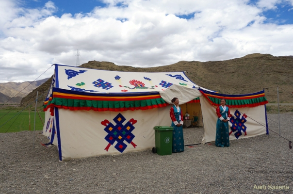 Modern Tibetan tentage