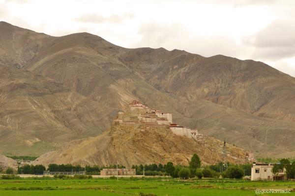 The Gyantse Dzong