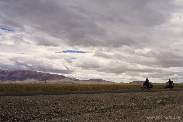 The G219 near Satsang in Tibet