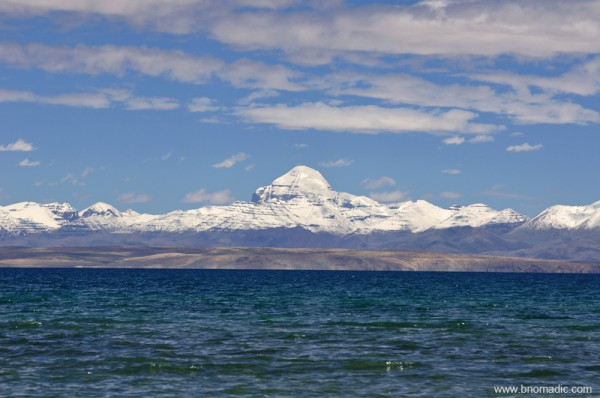 The Kailash and the Manasarovar