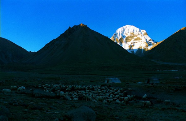 North face of the holy Kailash as observed from Deraphuk. Photo by Jen Reurink