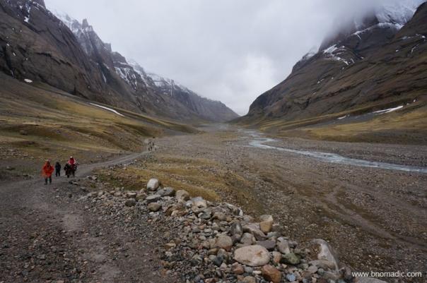 Quite high above a livable altitude, the ascent was gradual