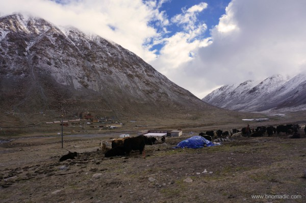 Deraphuk monastery from the