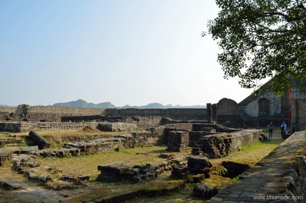 Some more ruins adjacent to the courtyard