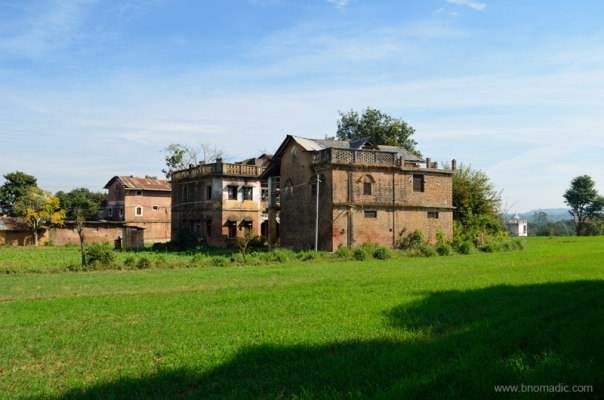 The heritage village of Pragpur
