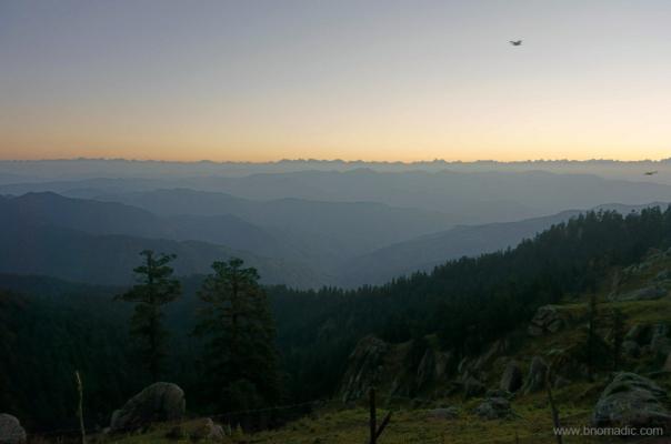 Daybreak at Churdhar