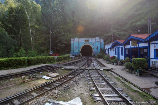The newer tunnel - Tunnel No. 33; longest one on the route