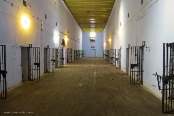 Of the 54 maximum security cells, 16 were for solitary confinement.