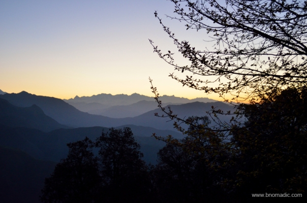 Mystic Himalayan morning at Chakrata