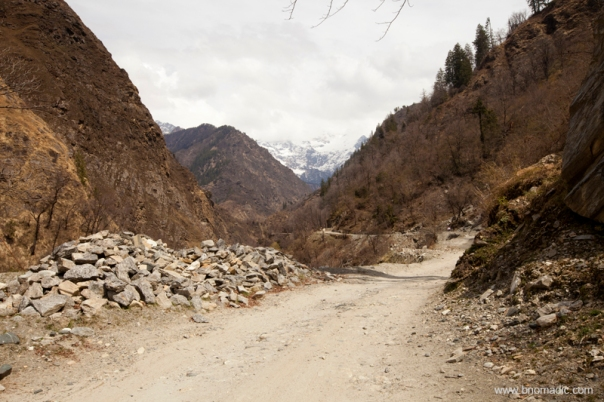 Road through the Yamuna Valley