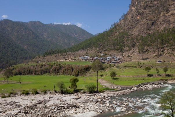 The Kamal Valley; geographically, the valley is the biggest divide between the Yamuna and the Tons Valleys.