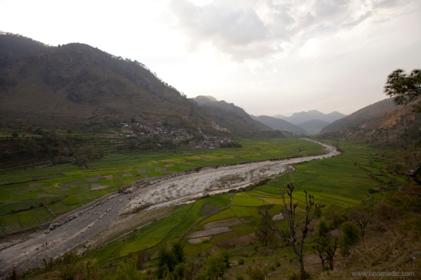The fertile Kamal Valley