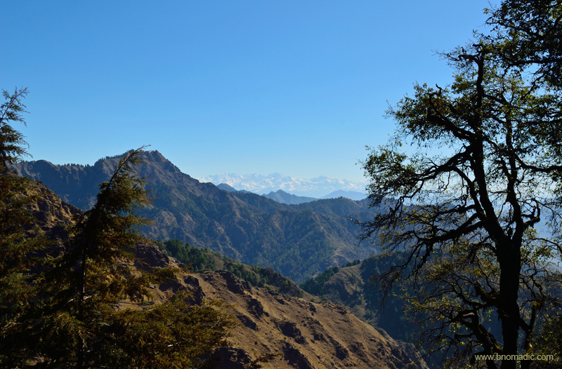 Magical morning from the ridges of Chakrata